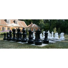 Garden Chess Board   - 17cm Plastic