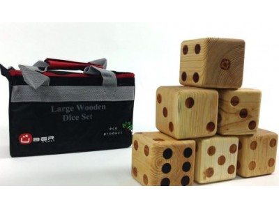 Large Wooden Dice