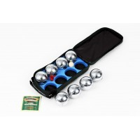 8 Ball Boules in Canvas Bag (73mm)